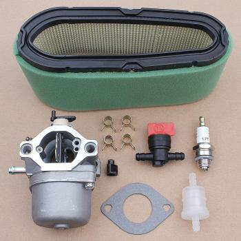 цена на Carburetor Carb with Gasket O-ring Air Filter Kit for Briggs Stratton 498027 498231 799728 496894 493909 Engine Parts
