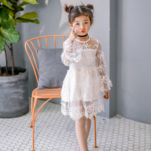 Dresses Summer Girl Clothes Kids Dresses For Girls Lace Flower Dress Baby Girl Party Wedding Dress Children Girl Princess Dress все цены