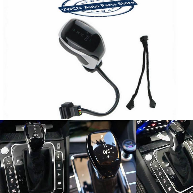 Электронный рукоятка переключения для VW Гольф mk6 mk7 passat B7 B8 tiguan MK2 DSG, Оригинальный бренд Новый светодиодный переключения электронный рукоятк...