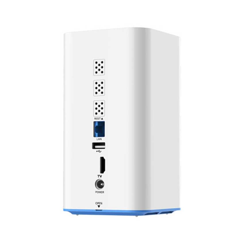 HIKVISON NAS Network-Cloud-Storage Mobile-Rete H90 Intelligente USB USB2.0 In Remoto supporto da 2.5 pollici HDD (non Includere Hdd)
