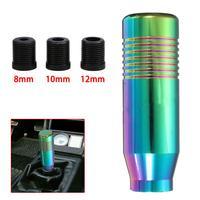 Alavanca de câmbio de alumínio para carro  alavanca manual universal 8mm/10mm/12mm para vw audi