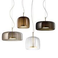 Скандинавские индивидуальные стеклянные люстры свет Lampara Para Comedor светильники стеклянные подвесные светильники с подвесками для гостиной с
