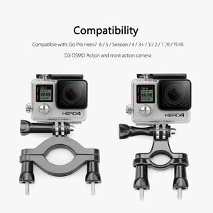 Image 2 - Vamson Pro עבור אביזרי אופני אופנוע כידון קוטב הר עבור Gopro גיבור 8 7 6 5 4 עבור SJCAM mijia עבור יי 4K VP504