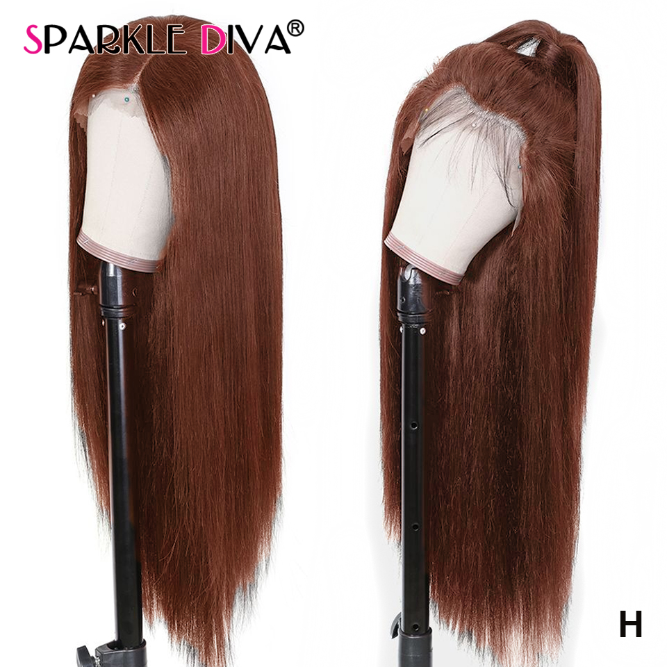 13*4 Straight Lace Front Human Hair Wigs For Black Women #4 Brazilian Lace Front Wig 150% Dens Remy Human Hair Wigs Pre Plucked