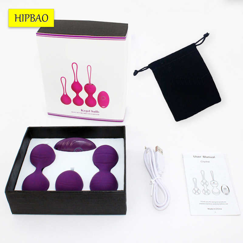 Bolas de silicona Kegel para ejercicio, simulador Vaginal, huevo vibrador, Control remoto, bolas chinas para mujeres, bolas para juegos sexuales