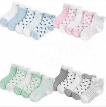 0 -3 Year 5 Pares Rock Baby Socks Wholesale From Children Breathless Summer Mesh Ultra -thin Stars Boys Sock