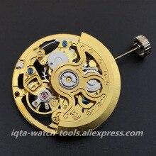 Hangzhou 2189, nouveau mouvement mécanique, mouvement creux automatique, accessoires pour montres