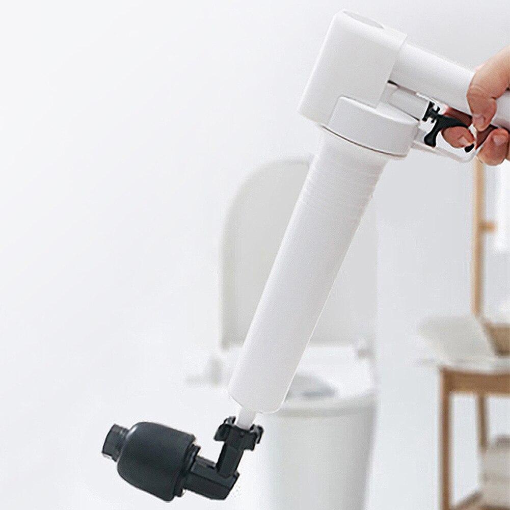 Toilet Plungers High Pressure Air DrainAuger Dredge Kitchen Gun Drain Sinks Cleaner Household Toilet Bathroom Sewerage