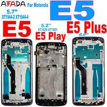 Orijinal Motorola Moto E5 artı E5Plus XT1924 E5 oyun XT1920 XT1921 E5 XT1944-2 XT1944-4 LCD ekran dokunmatik ekran meclisi