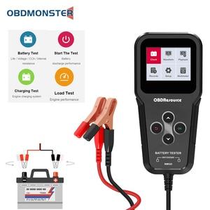 Image 1 - BM520 Truck Battery Analyzer 6V 12V 24V Reversible Access Clips 2000 CCA BCI EN Car Motorcycle Voltage Check Charging Test Tool
