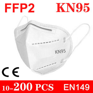 FILTER Masks Protect Health-Care Ffp2 Mouth KN95 5-Layers Anti-Dust Fast-Send