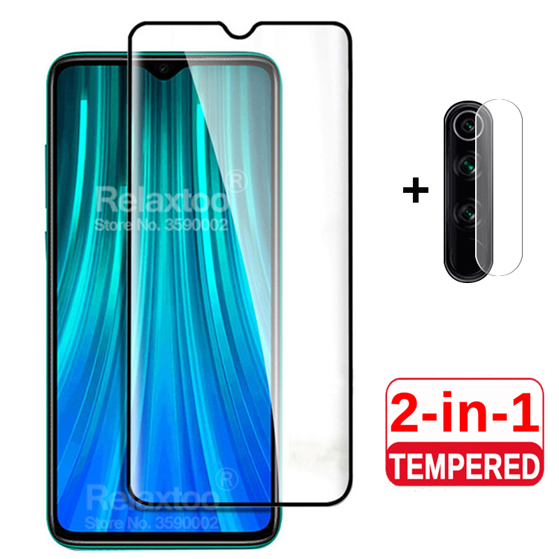 2Pcs Tempered Glass For Xiaomi Redmi Note 8 Pro Camera Lens Protective Glass On Xiomi Redmi Note 8 Pro 8t 8a Note8 T Phone Film