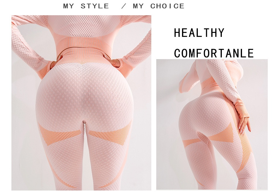 Suits yoga outfit  (4)