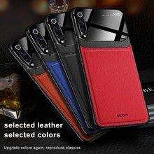 Кожаный чехол для Xiaomi mi 9 9T Pro 9SE 8 Lite Max 2 3 чехол Роскошный mi rror стеклянный противоударный чехол для Red mi 7/8 Note 7/8 Pro Чехол