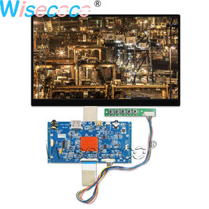 Wisecoco 10.1 Inch 3840(RGB)×2160 LCD Screen 4K UHD IPS 40 pins eDP Earphone HDMI Controller Driver Board for Pad & Tablet(China)