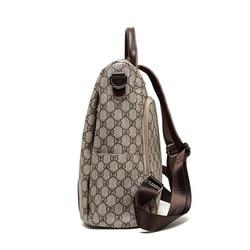 2019 Новый стиль корейский стиль модный рюкзак женская школьная сумка GD узор женские кожаные сумки для улицы дорожная сумка анти-т