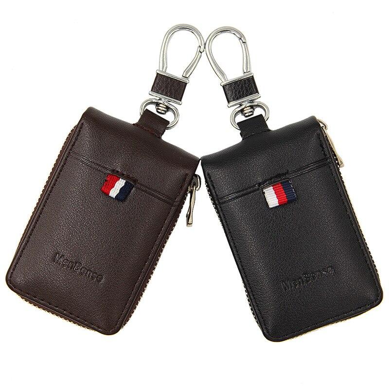 Pu Leather Key Wallet Men & Women Car Key Bag Multi Function Key Case Fashion Ladies Housekeeper Key Holders  Bag
