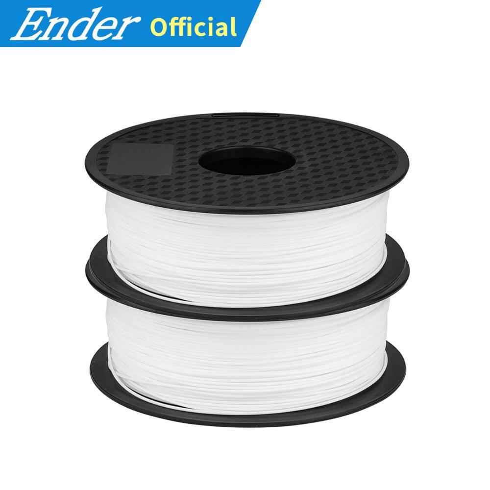 Materiais brancos/pretos do pla do filamento 1.75mm da impressora 3d da cor 2 kg para a impressora 3d 1 kg/rolo para a impressora 3d e a pena 3d