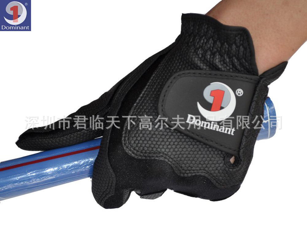 Genuine Product Dominant/Demetri Men Golf Gloves Magic Gloves PU Gloves Left Hand Over Elastic-F