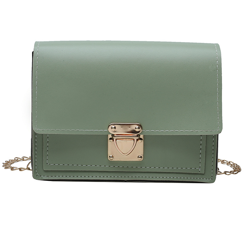 Bags For Women 2019 Luxury Handbags Women Bags Designer Female Korean Version Mortise Lock Wild Chain Slanting Small Square Bag