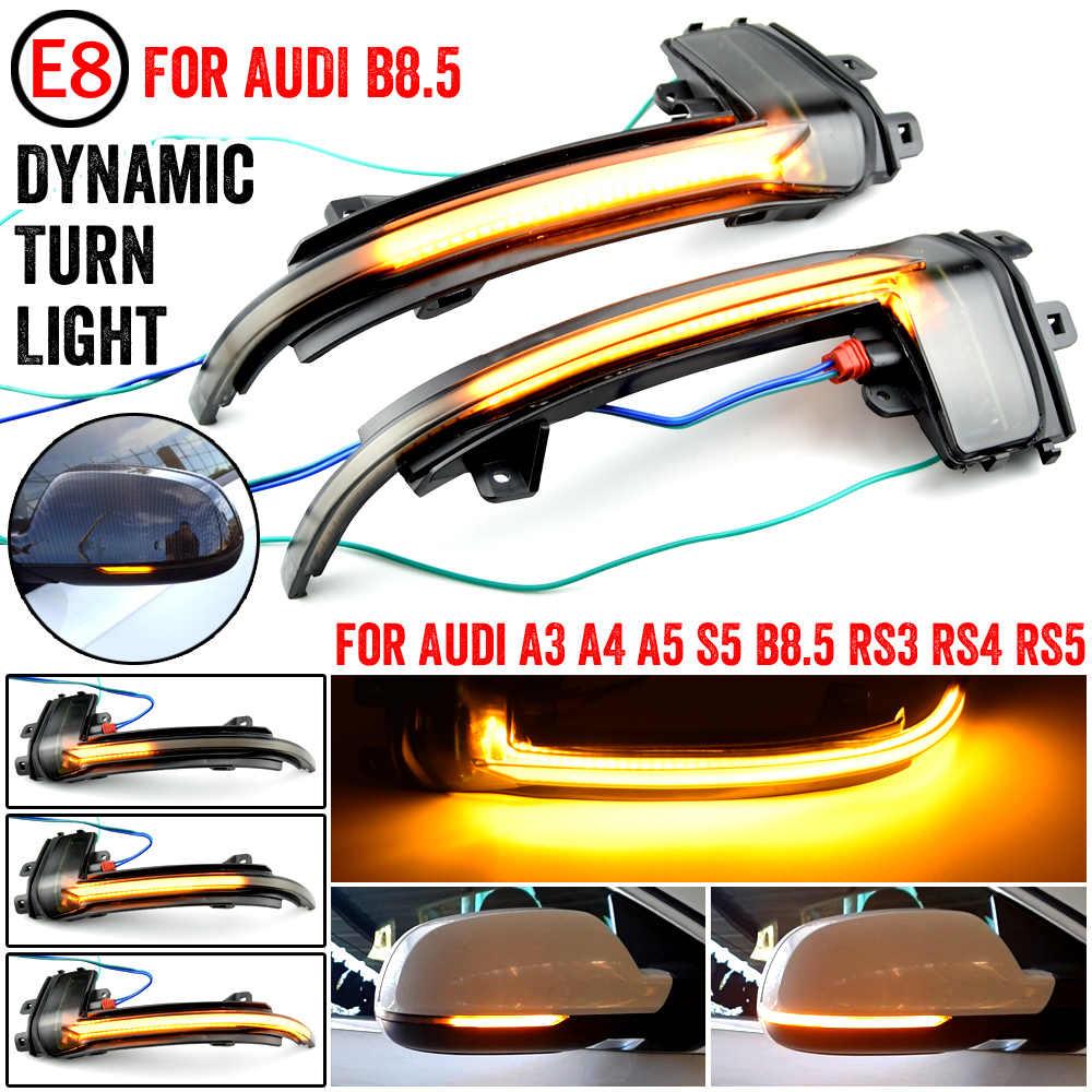 Ajuste AUDI A4 B8 A3 A5 Espejo De Ala Lado Derecho Lámpara de luz LED indicador de señal de vuelta