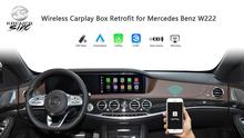 Aftermarket אלחוטי Carplay חכם תיבת עבור מרצדס בנץ S Class W222 NTG4.5 NTG5.0 עבור מרצדס בנץ Carplay אנדרואיד Retrofit