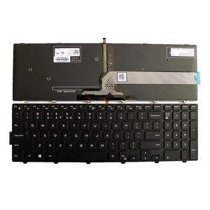 Image 1 - US คีย์บอร์ดสำหรับ Dell Inspiron 15 3000 5000 3541 3542 3543 5542 5545 5547 17 5000 แล็ปท็อปแป้นพิมพ์ภาษาอังกฤษ backlit
