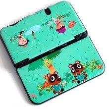 غلاف حماية صلب غير لامع مضاد للانزلاق لعبور الحيوانات لجهاز نينتندو جديد 3DSXL 3DSLL حافظة غطاء وحدة التحكم في الألعاب