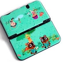 אנטי להחליק מט קשיח מעטפת מגן מקרה עבור Animal Crossing עבור Nintend חדש 3DSXL 3DSLL משחק קונסולה דיור כיסוי מקרה