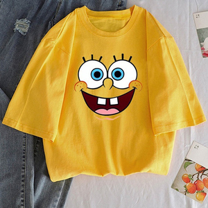 New product launches cartoon prints and personalized streetwear shirts Comfortable T-shirts Unisex fashion T-shirts