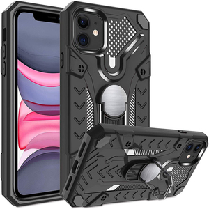 Military Grade Protector Shockproof Case For iPhone 12 mini 11 Pro XS Max XR X 7 8 Plus SE 2020 Kickstand Armor Heavy Duty Cover
