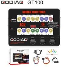 진단 도구 GODIAG GT100 OBDII 프로토콜 ECU 감지기 및 프로그래밍 및 코딩으로 상자를 끊으십시오.