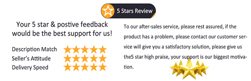 2)5 stars review