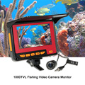 4 3 ''цветной цифровой lcd 1000TVL рыболокатор HD IR светодиодный монитор для рыболовной камеры Подводная рыболовная камера 20 м кабель EU/US Plug