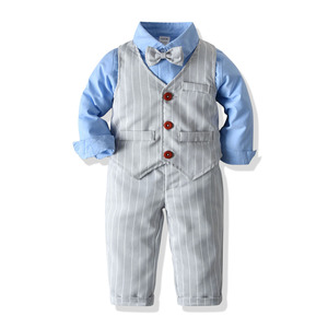 School Suit for Boy Costume Kids Blazer Toddler Boy Suits Set Formal Kid Boys Wedding Suit Baby Outfits Children Clothing Sets