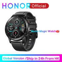 Globale Versione Honor Magia Orologio 2 Astuto Della Vigilanza Bluetooth5.1 Smartwatch Impermeabile 14 Giorni di Sport Della Vigilanza Del Cuore di Ratto Per Android iOS