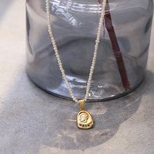 Настоящий пресноводный жемчуг портрет колье чокер ожерелье Женские