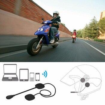 Auriculares inalámbricos para casco de motocicleta de 5 generación con Bluetooth 5,0 MH05