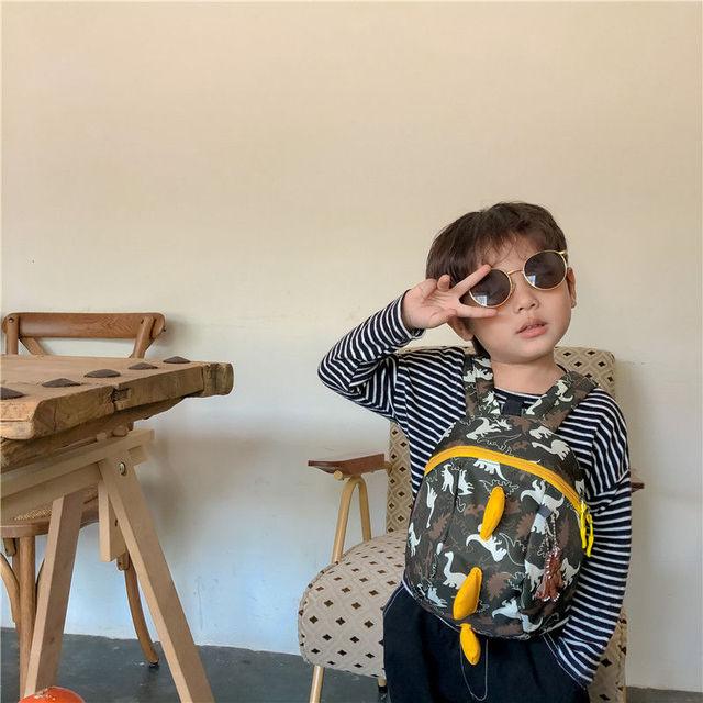 3D Cotton Kids Kindergarten Student School Bags Children Backpack Cartoon Infant Book Bags Dinosaur Book Bags for Baby Girls Boy 3