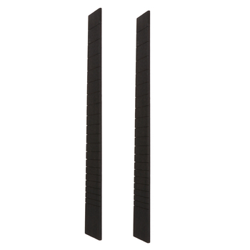 2 Pieces 20 Fret Ebony Guitar Fingerboard for Acoustic Classical Guitar Accessory