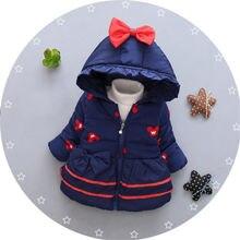 BibiCola/новое зимнее пальто для маленьких девочек Детская верхняя одежда Зимнее пальто с рисунком кота для маленьких девочек куртки для малышей Одежда для девочек