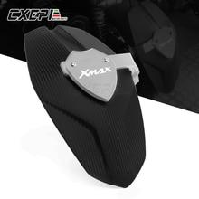 شعار XMAX دراجة نارية التصنيع باستخدام الحاسب الآلي الخلفي رفرف درابزين دقيق الطين أغطية الاطارات سبلاش الحرس لياماها XMAX X MAX 300 2017 2018