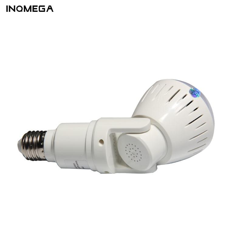 Image 3 - INQMEGA 1080P 360 Degree HD Panoramic Wifi IP Camera Light Bulb Home Security Video VR Camera V380 Wireless WiFi Kamera IndoorSurveillance Cameras   -