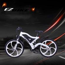 Электрический велосипед EZBIKE с 7 скоростями, рама из алюминиевого сплава, 500 Вт, 36 В, горный велосипед, высокое качество, упаковка для электровелосипеда