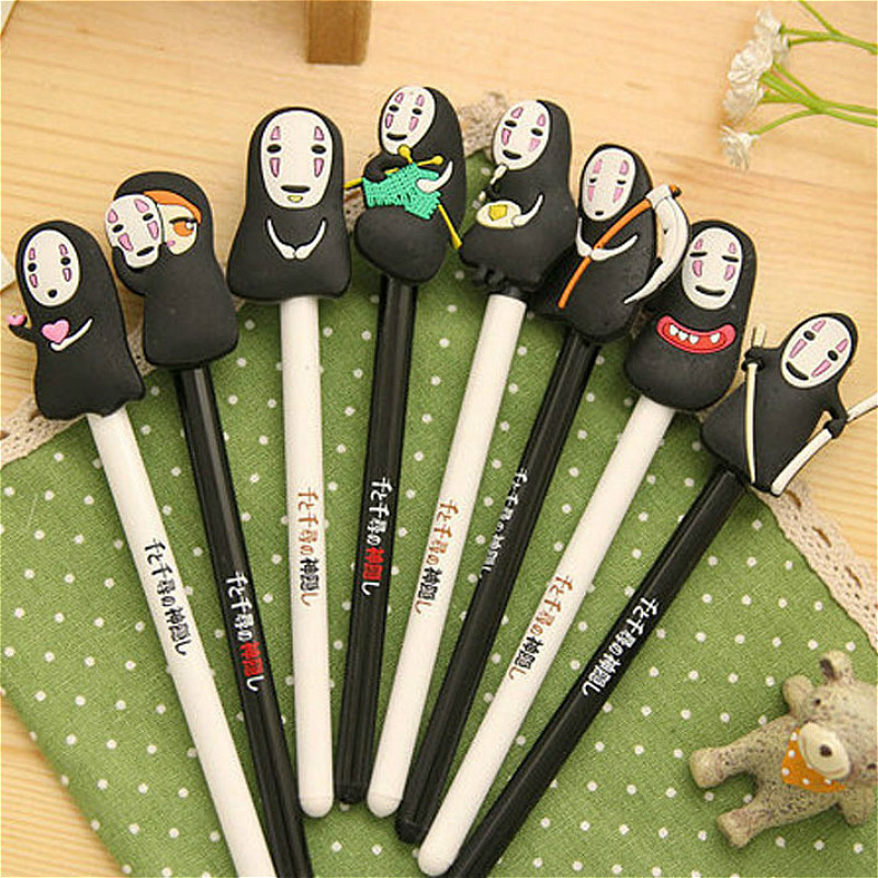 1pcs Kawaii No Face Man Pen Out of Pencil Case Large Capacity School Pencil Bag Stationery creative School Write Supplies