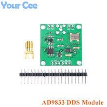 Ad9833 dds sinal gerador módulo dc 0-12.5mhz spi quadrado triângulo onda senoidal saída digital programável freqüência e fase