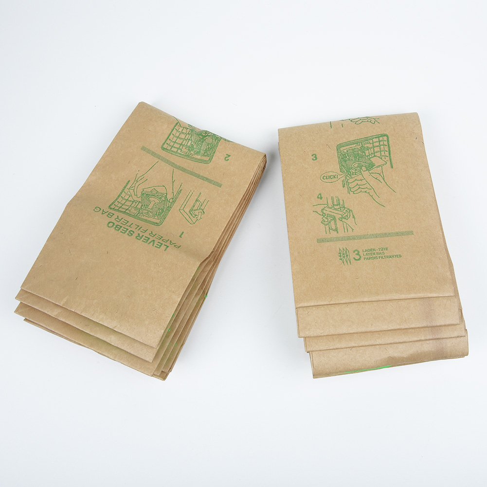 10Pcs Dust Bags For BORK V701 V702 VC 9721 VC 9821 VC 9921 Vacuum Cleaner Parts Home Cleaning Supplies