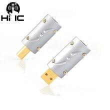 Câble de données USB de Type A ou B, connecteur USB 2.0, couleur dorée, connecteur Jack