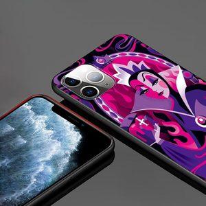 Image 2 - Królewna śnieżka śliczna dla Apple iPhone 12 11 Pro Max mini XS Max XR X 8 7 6 6S Plus 5S SE 2020 miękka czarna obudowa telefonu