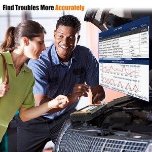 Image 4 - Foxwell – NT634 Scanner de diagnostic de voiture, outil de diagnostic de moteur ABS SRS, système de Transmission EPB TPMS DPF, réinitialisation dhuile, EOBD, OBD2
